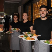 private catering services team